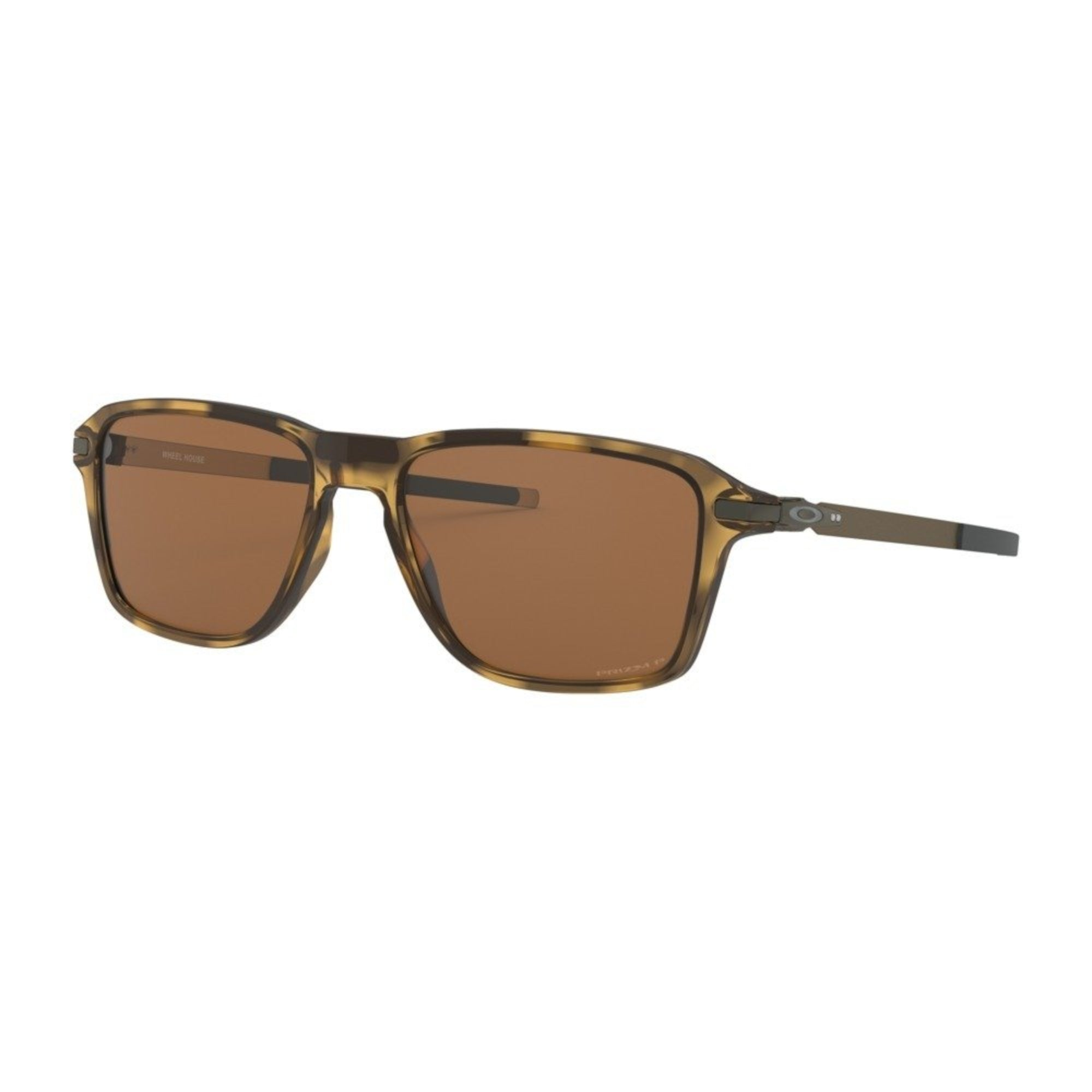 Oakley Wheel House Men's Sunglasses - Polished Tortoise Frame/Prizm Tungsten Lens