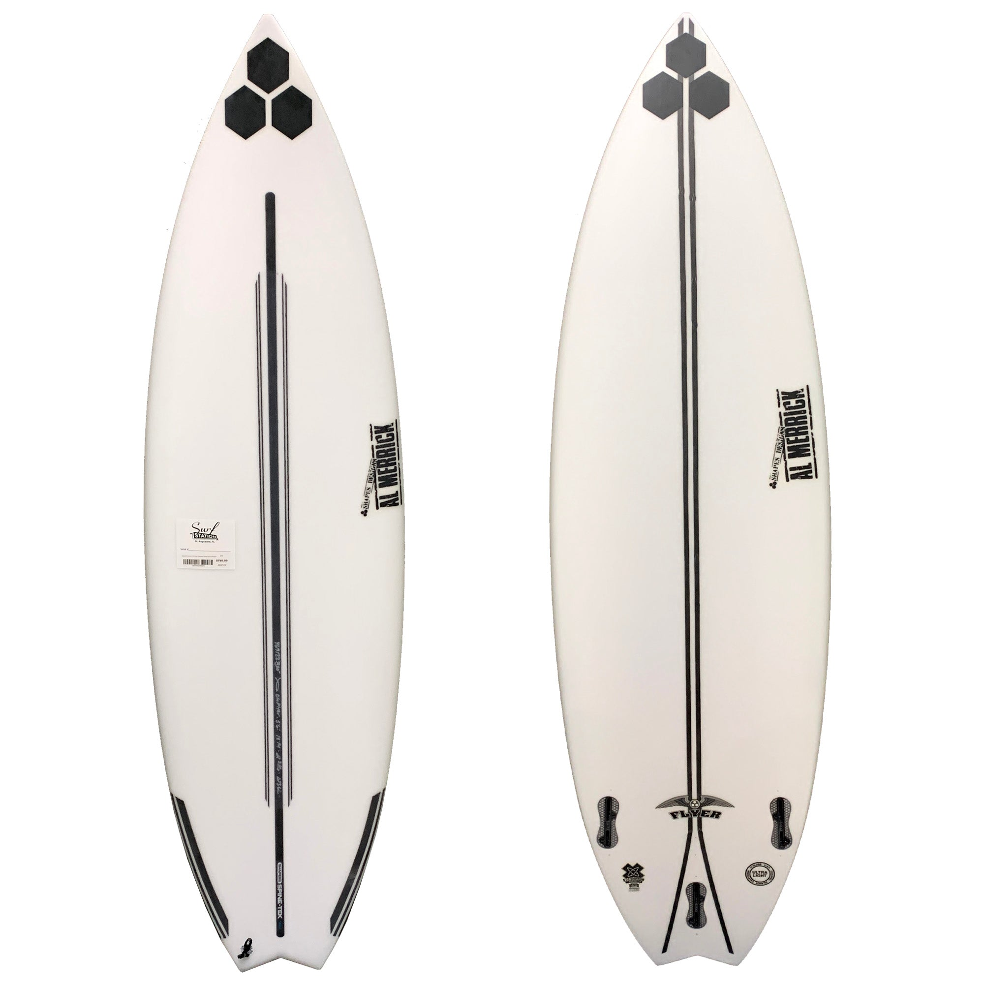 Channel Islands OG Flyer Swallow Spine-Tek Surfboard - FCS II