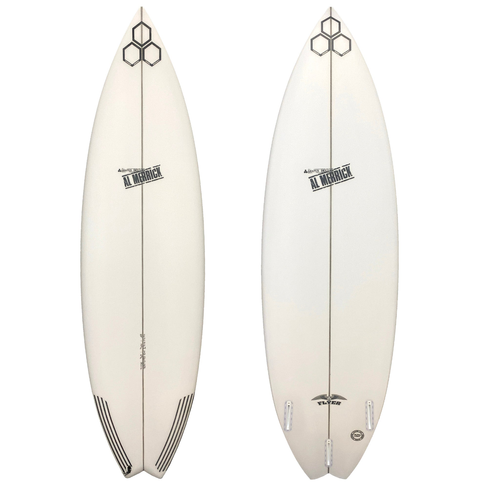 Channel Islands OG Flyer Swallow Surfboard - Futures