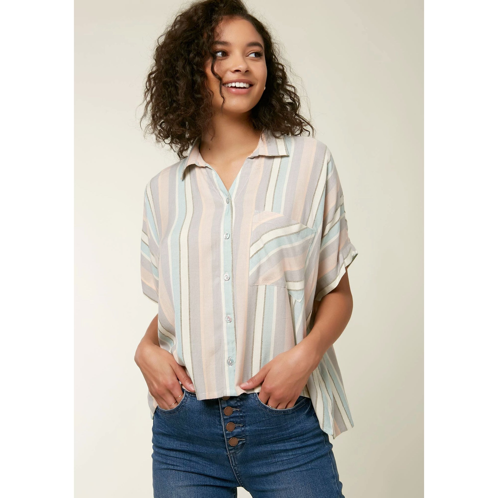 O'Neill Ogier Striped Women's Top