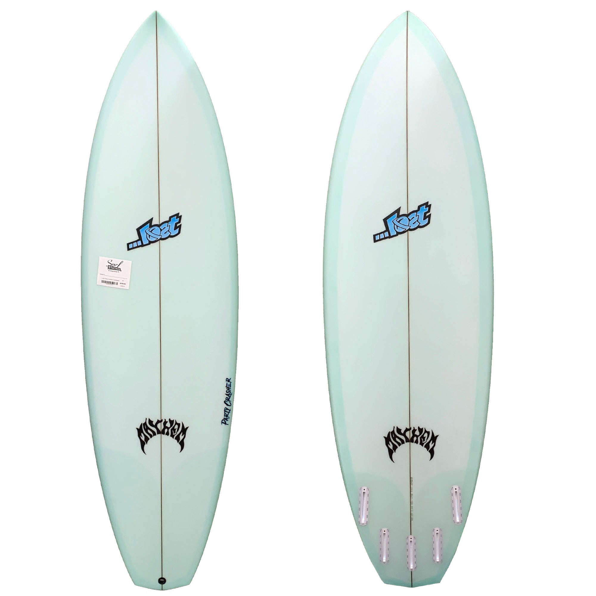 Lost Party Crasher Surfboard - Futures