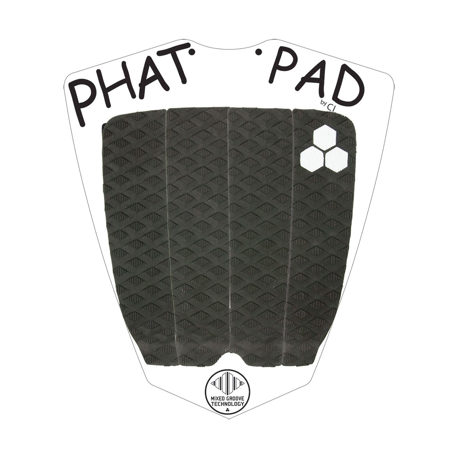 Channel Islands Phat Flat Traction Pad - Black