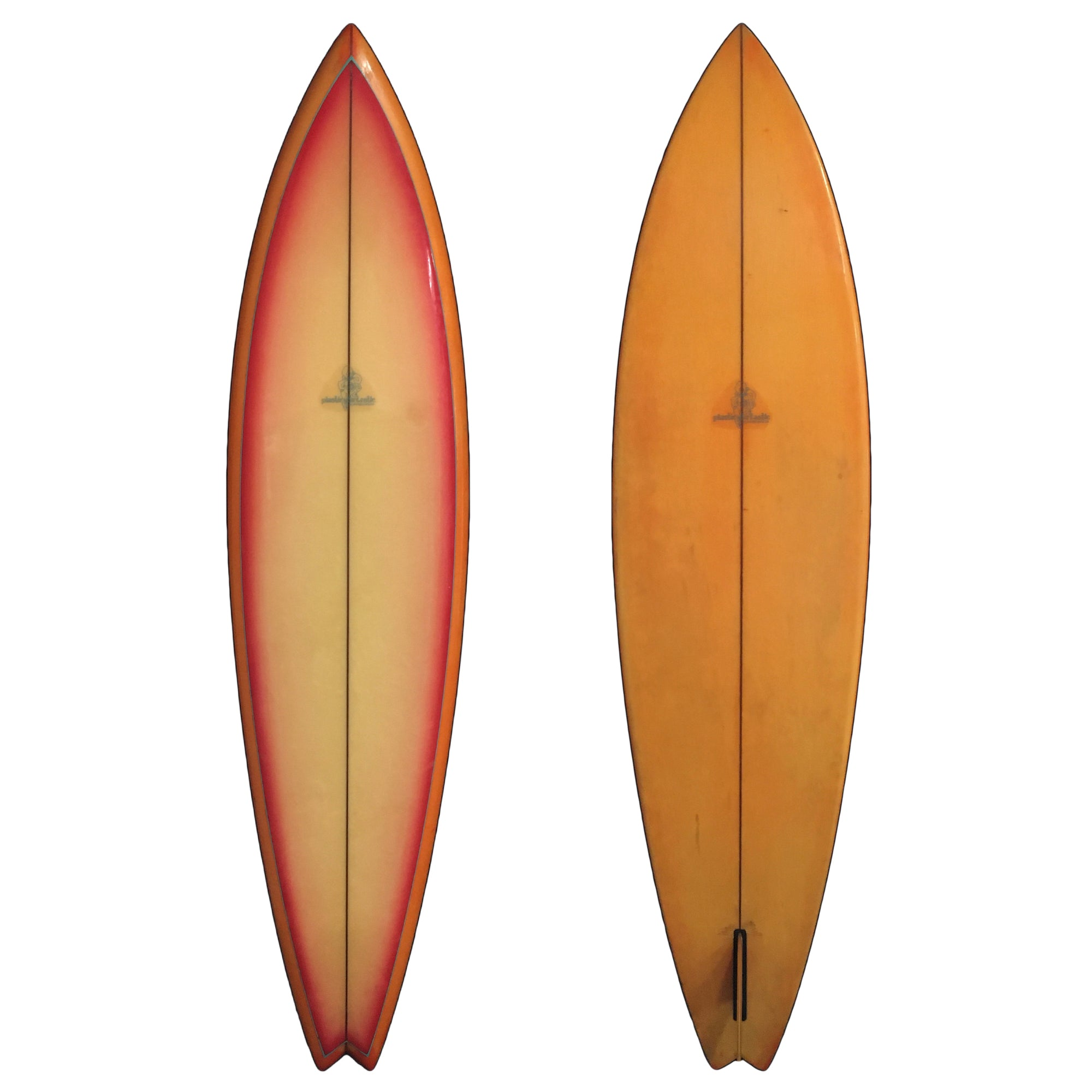 Plastic Fantastic Single Fin 6'9 Collector Surfboard