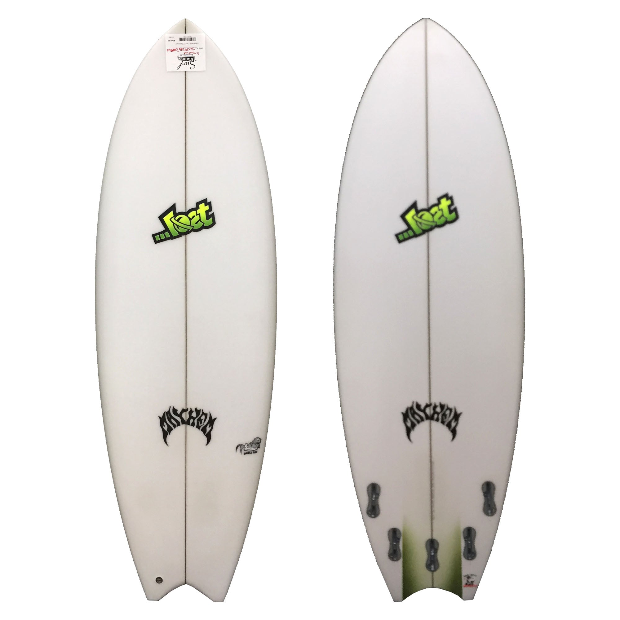 Lost Puddle Fish Discount Surfboard