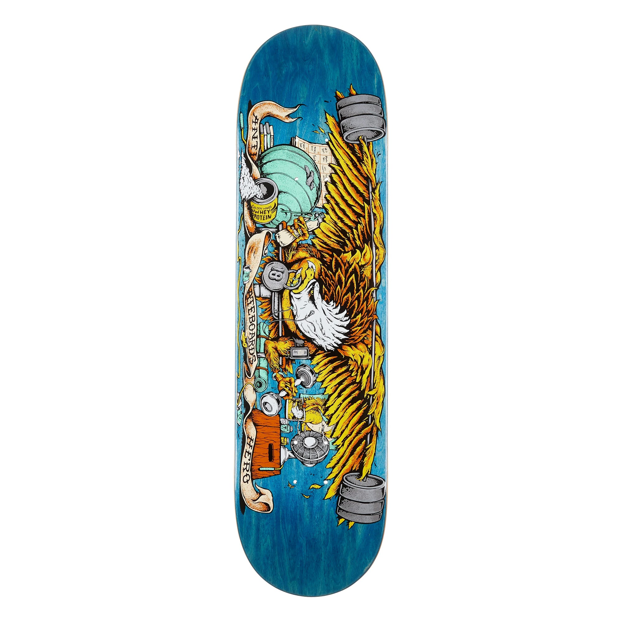 Anti-Hero Pumping Feathers 8.5 Skateboard Deck