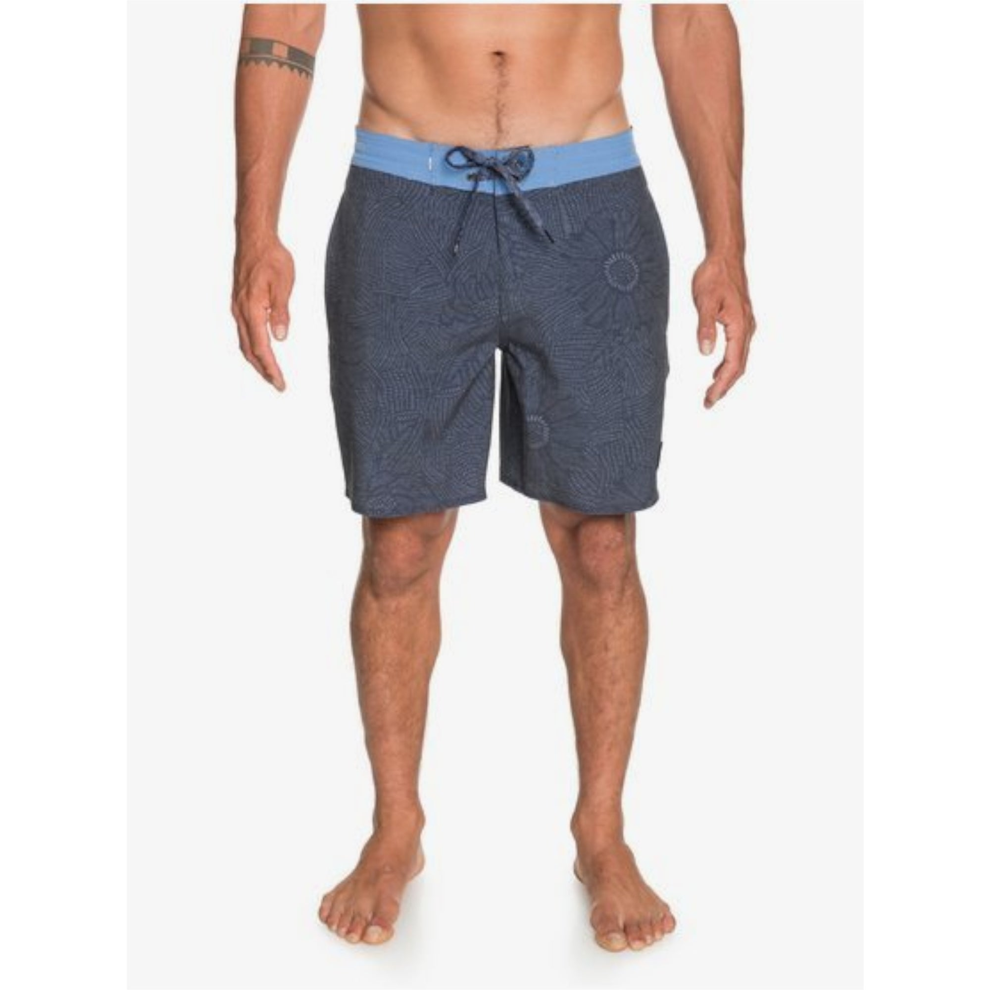 "Quiksilver Wildflower 18"" Men's Beach Shorts"