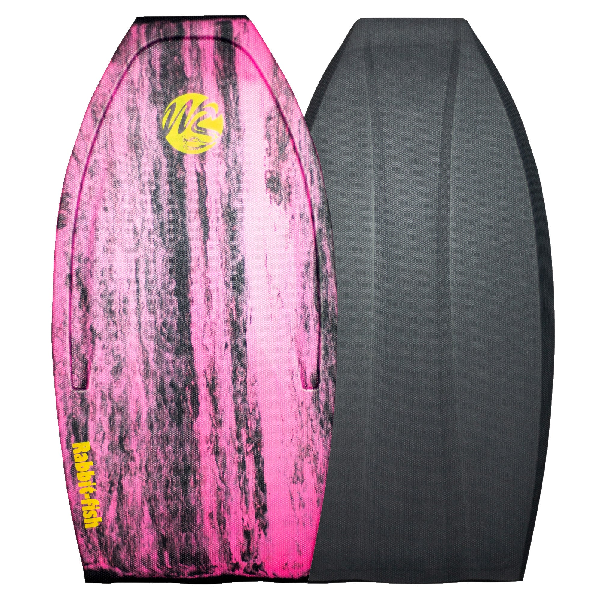 Wave Skater Pro Rabbit-Fish 45'' Bodyboard - Magenta/Grey