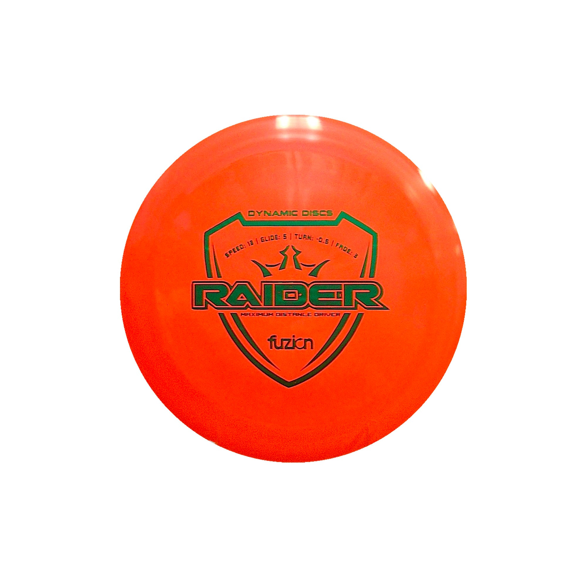 Dynamic Discs Fuzion Raider Disc Orange