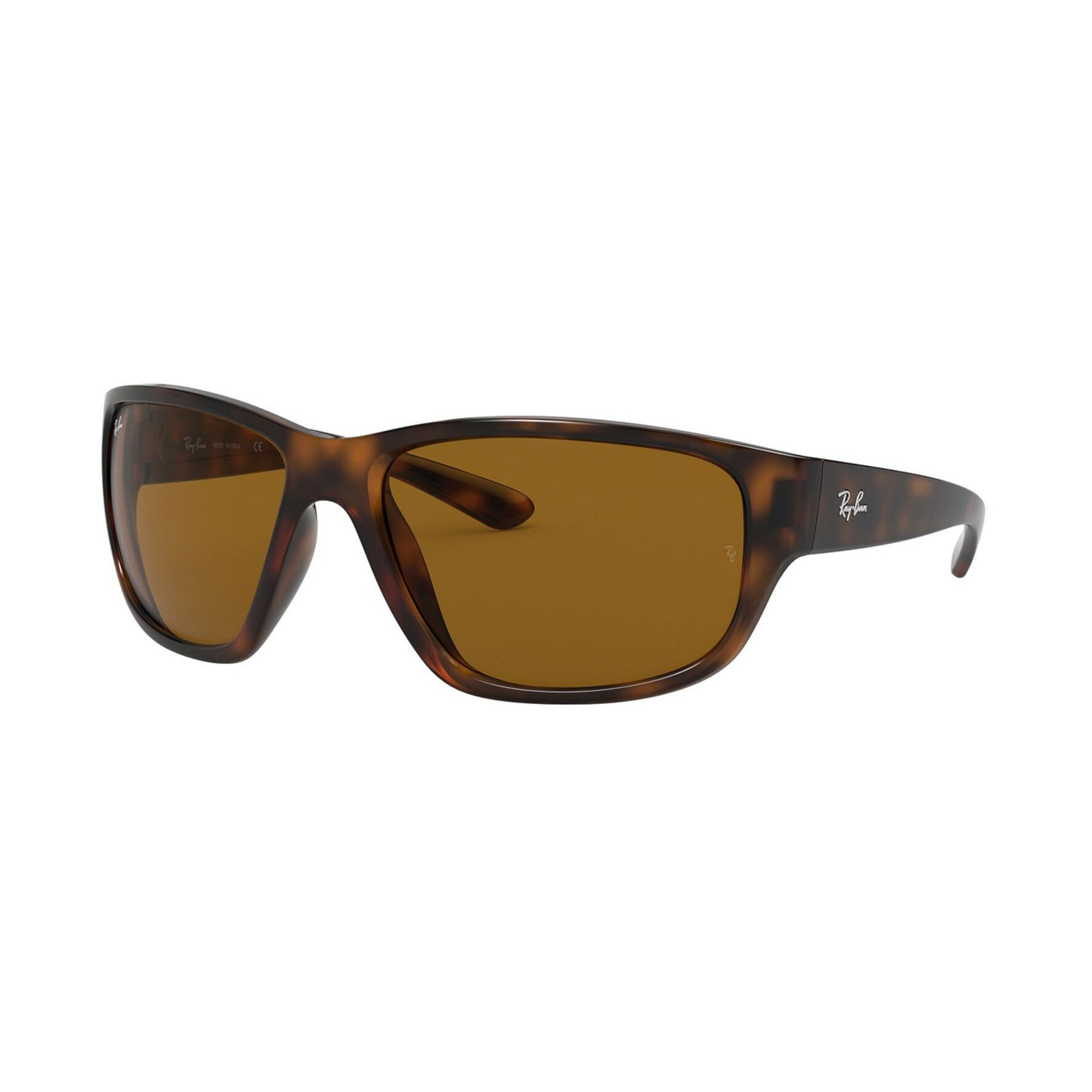 Ray-Ban 4300 Men's Sunglasses - Havana Brown/Brown