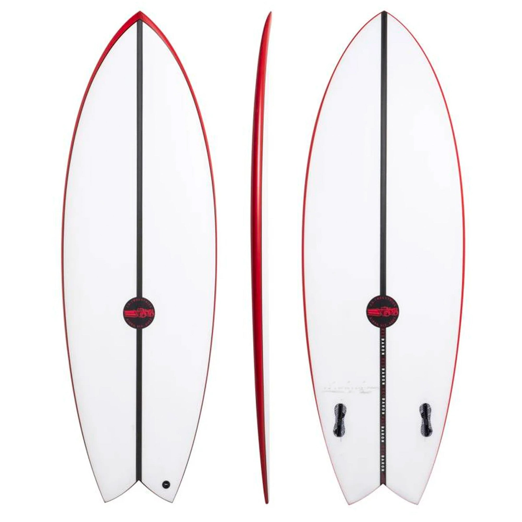 JS Red Baron EPS Surfboard - FCS II