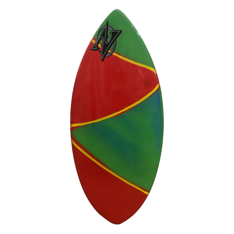 "Zap 45"" Wedge Skimboard - Red / Green"