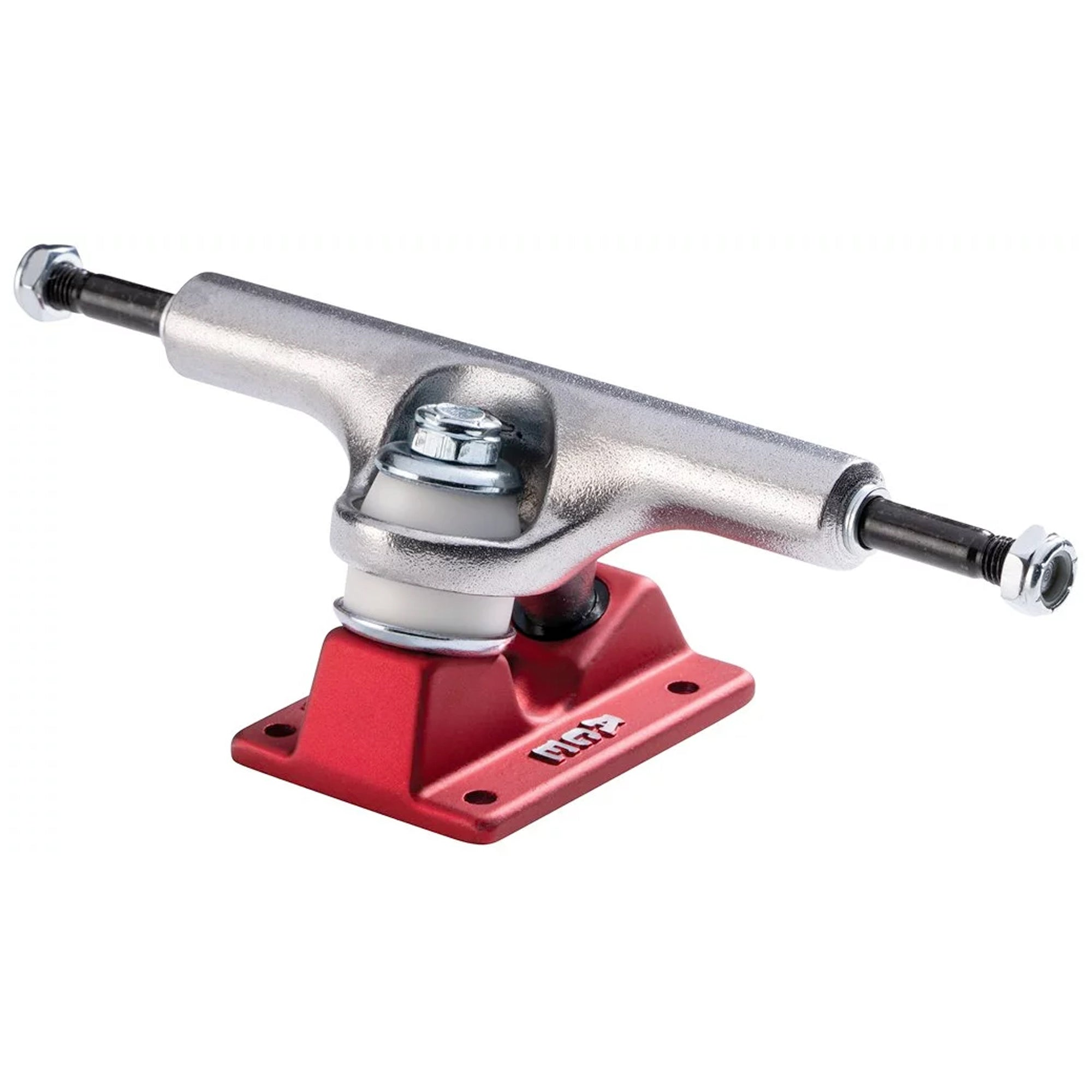 Ace 44/5.75 High Skateboard Trucks - Red