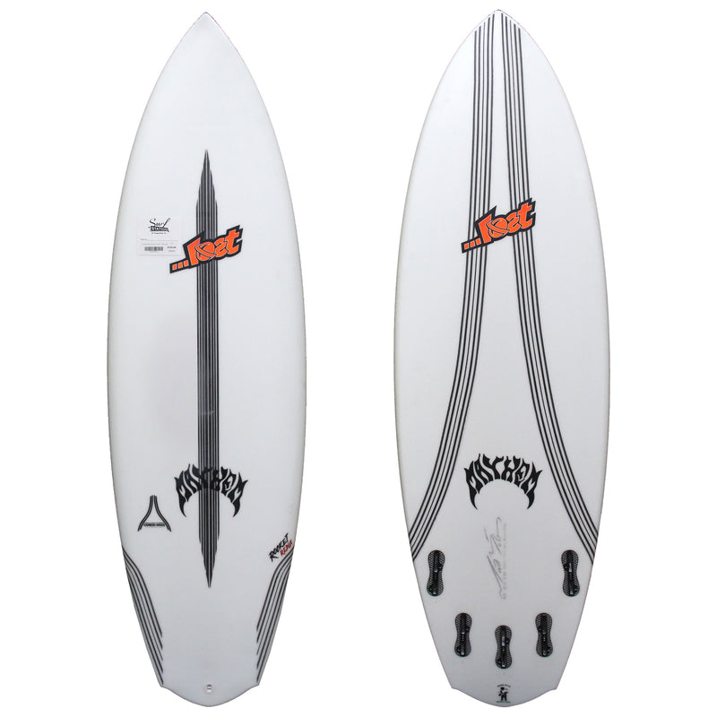 Lost Rocket Redux Discount Surfboard - Carbon Wrap
