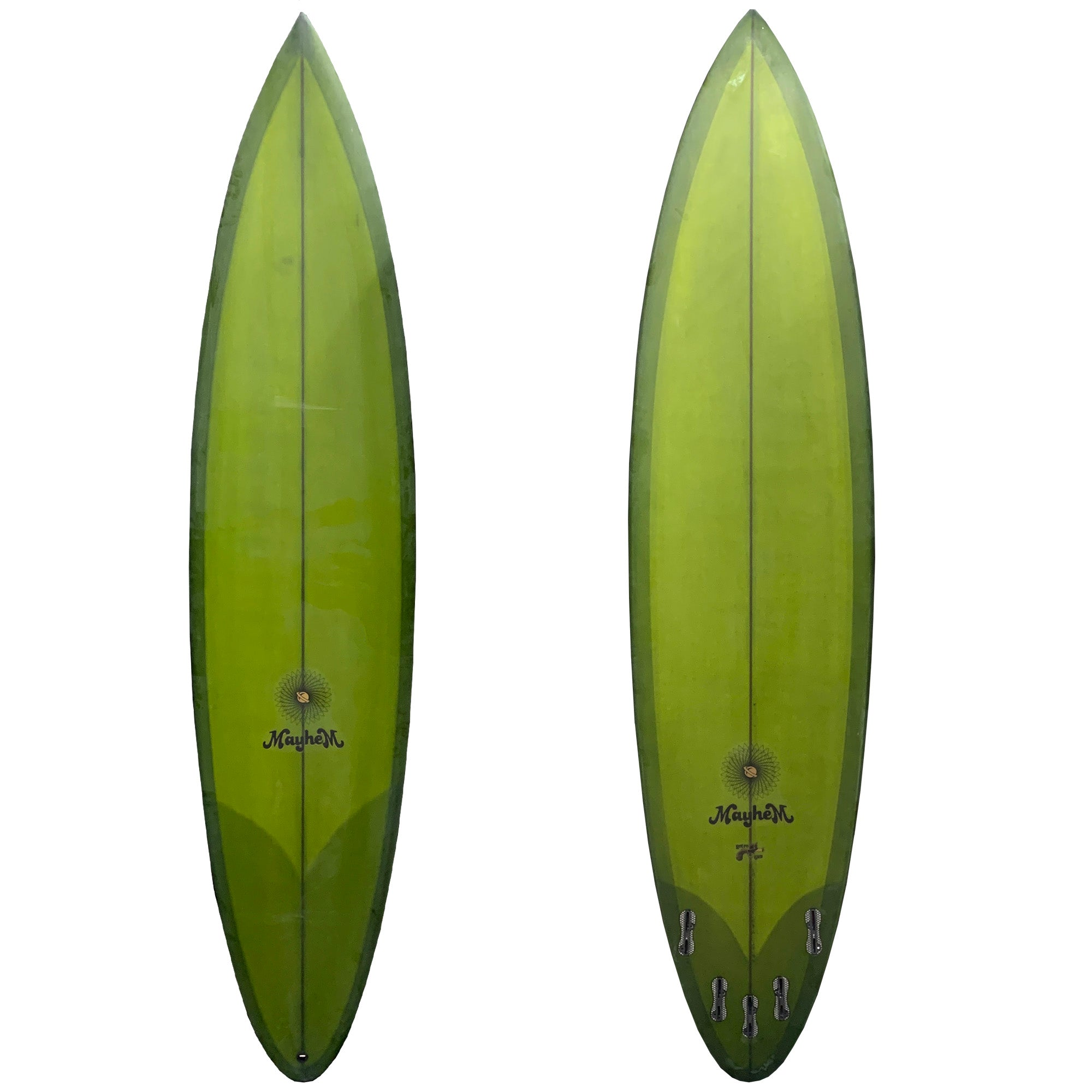 Lost Retro Gun Surfboard - FCS II