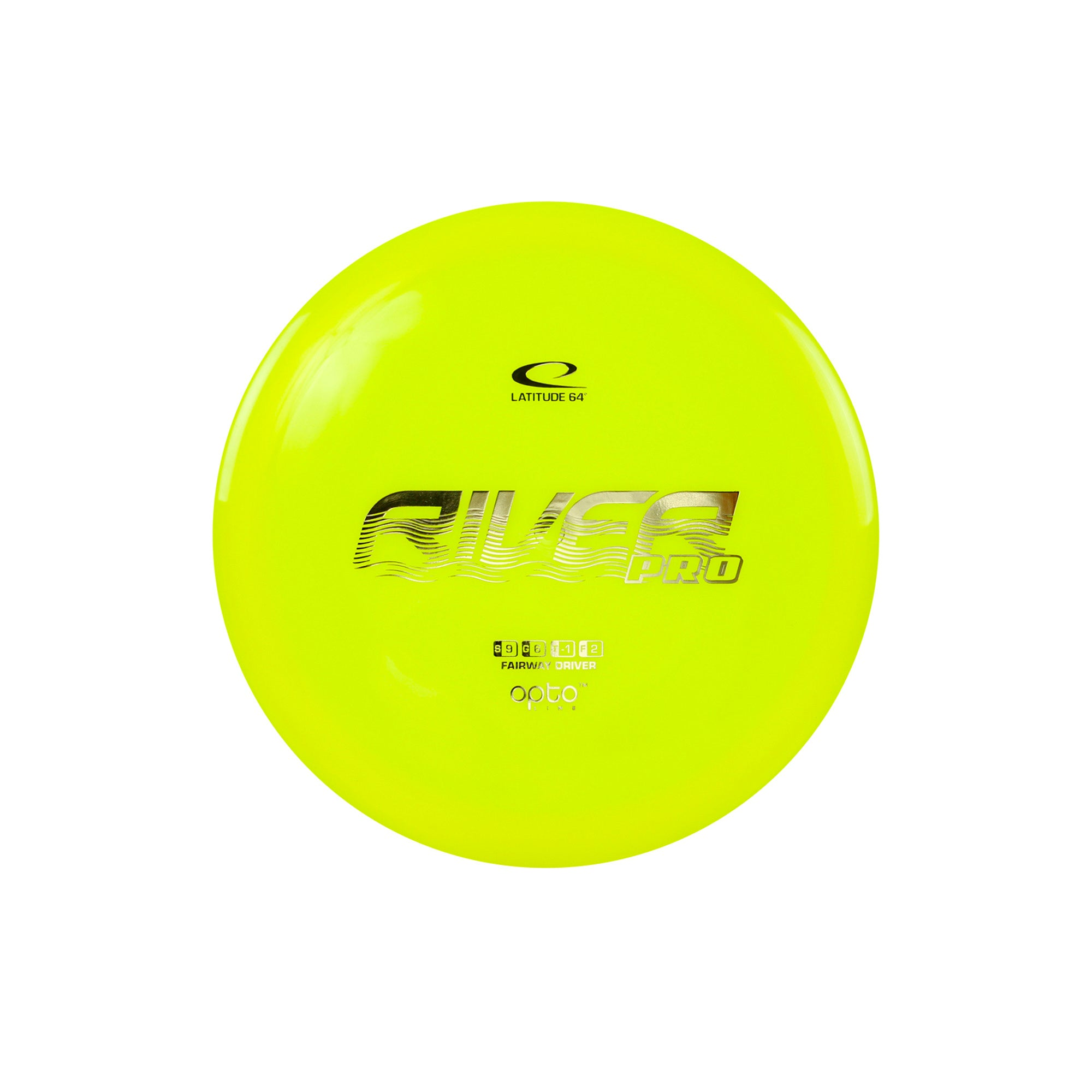 Latitude 64 Opto River Pro Fairway Driver Disc Yellow