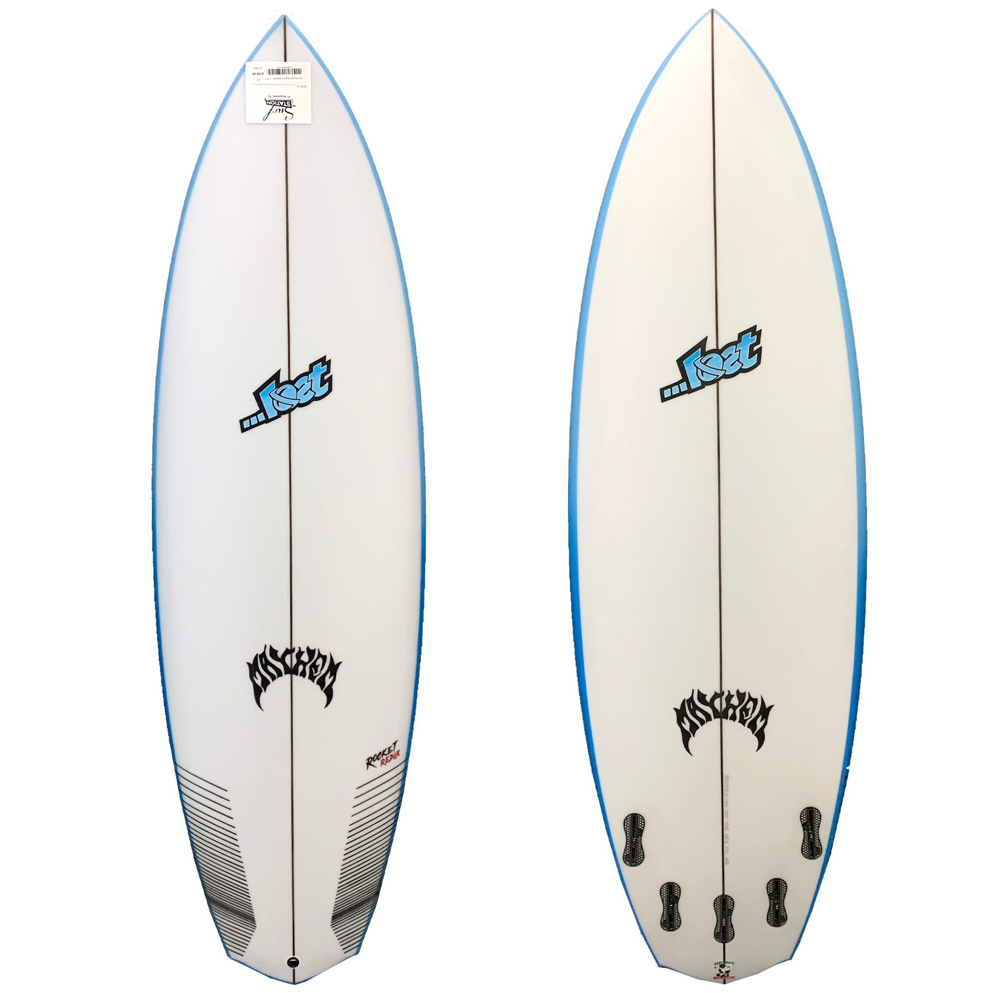 Lost Rocket Redux Surfboard - FCS II