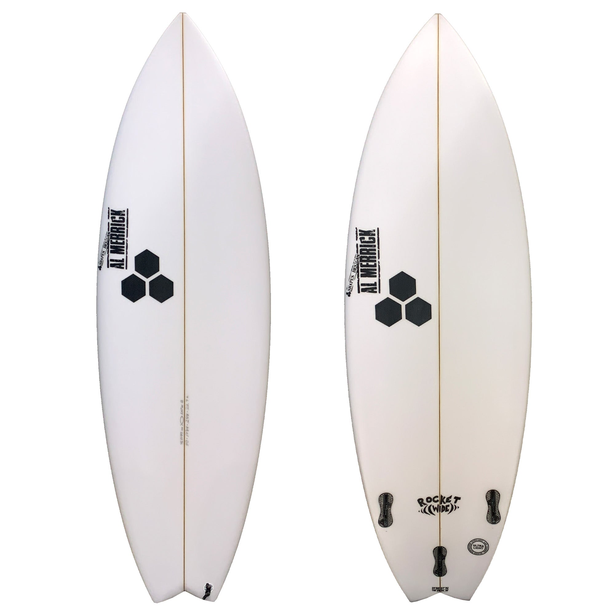 Channel Islands Rocket Wide Grom Series Surfboard - FCS II