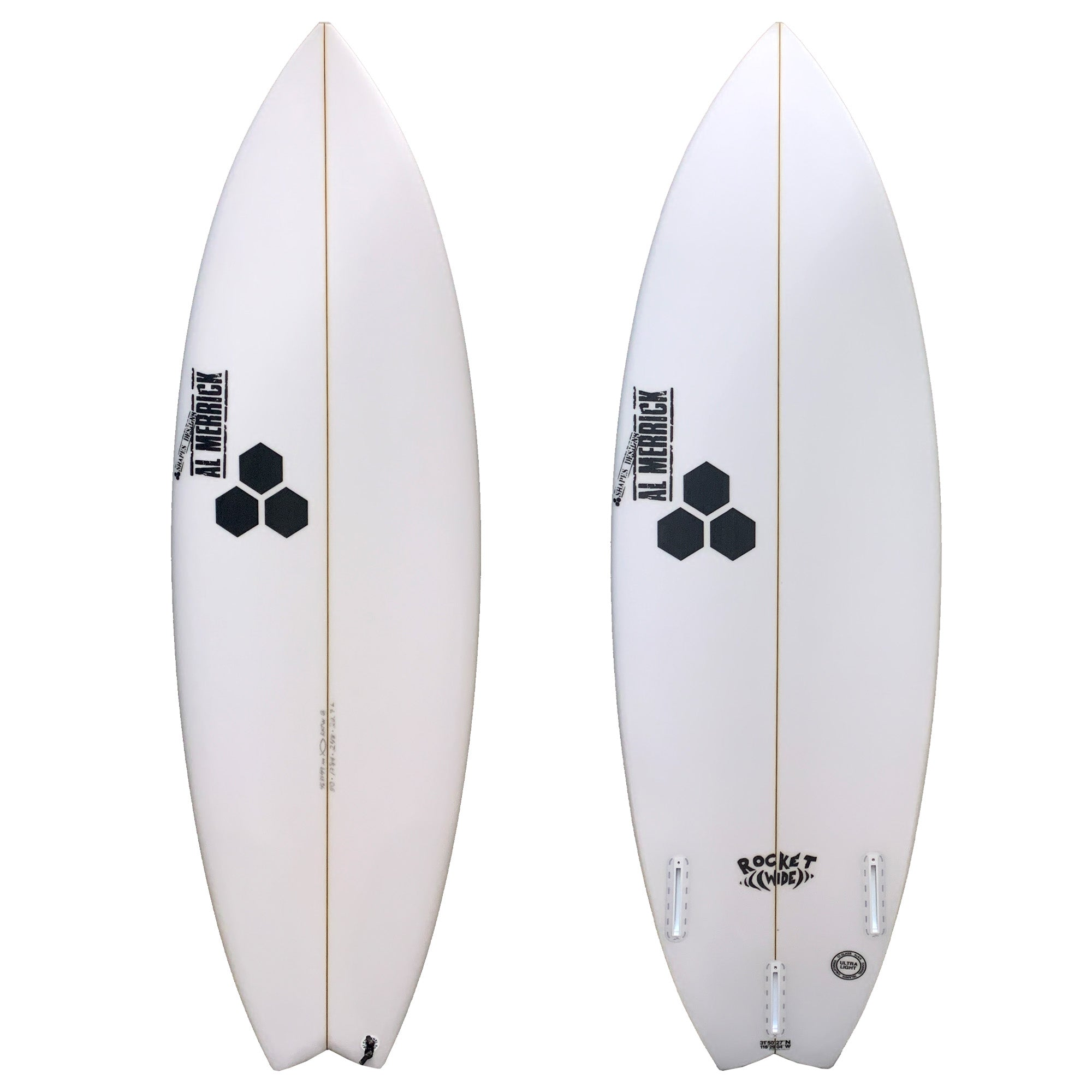 Channel Islands Rocket Wide Grom Series Surfboard - Futures