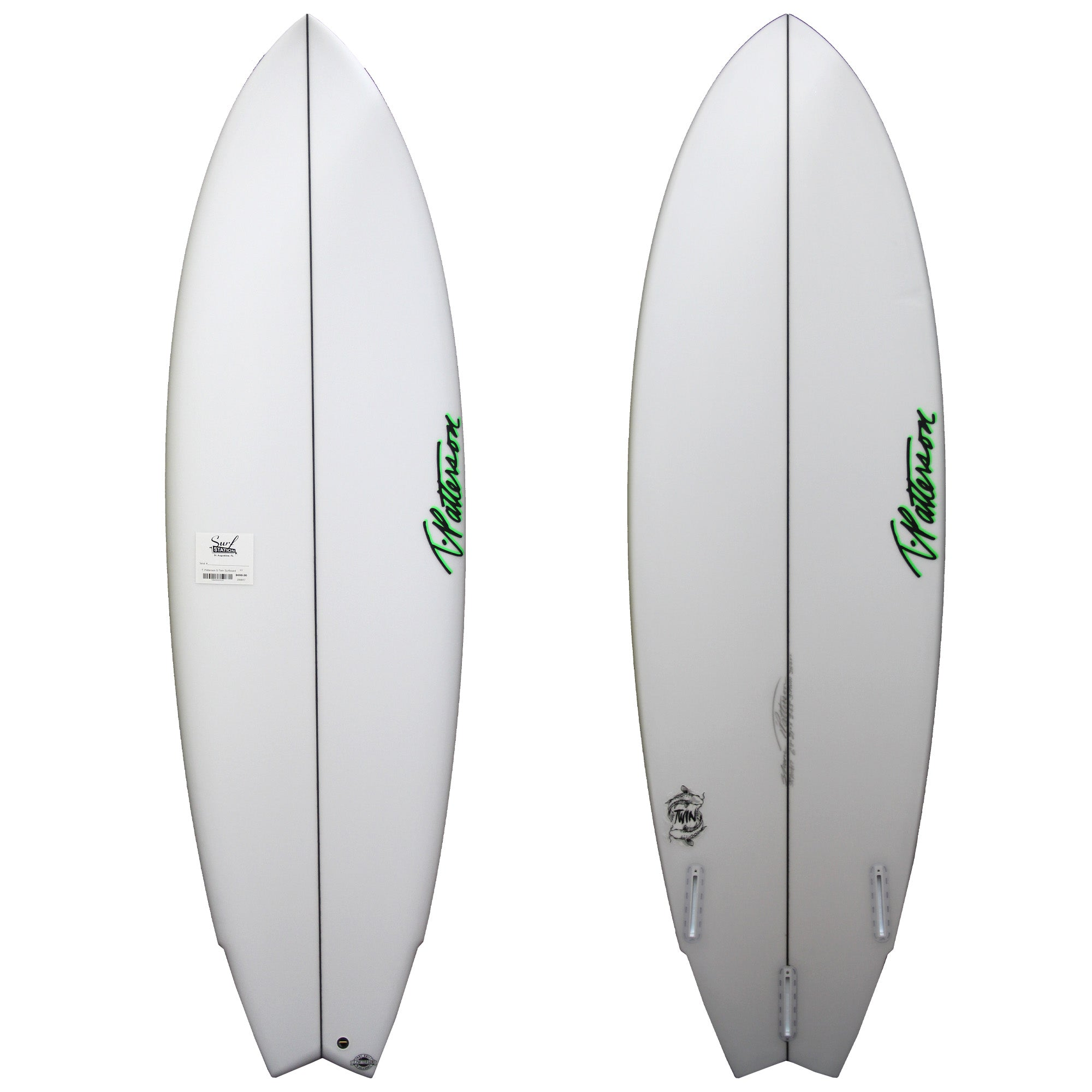 T. Patterson S-Twin Discount Surfboard