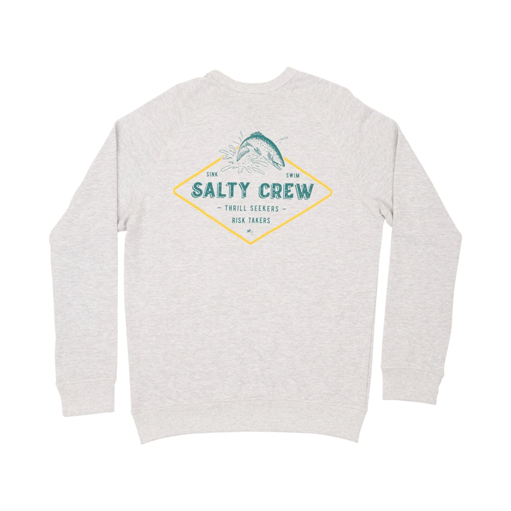 Salty Crew Dead Drift Men's L/S Crew Sweatshirt