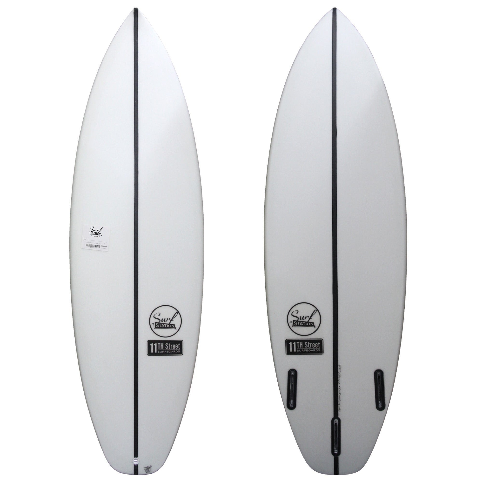 11th Street Surfboards Secret Weapon EPS Surfboard - Futures