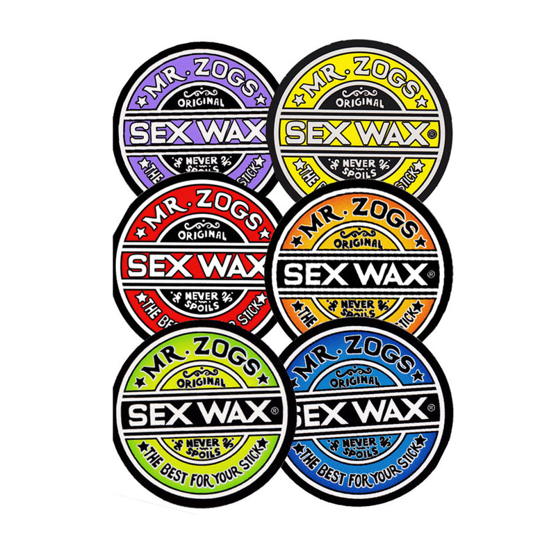 Sex Wax Sticker - Assorted Colorways