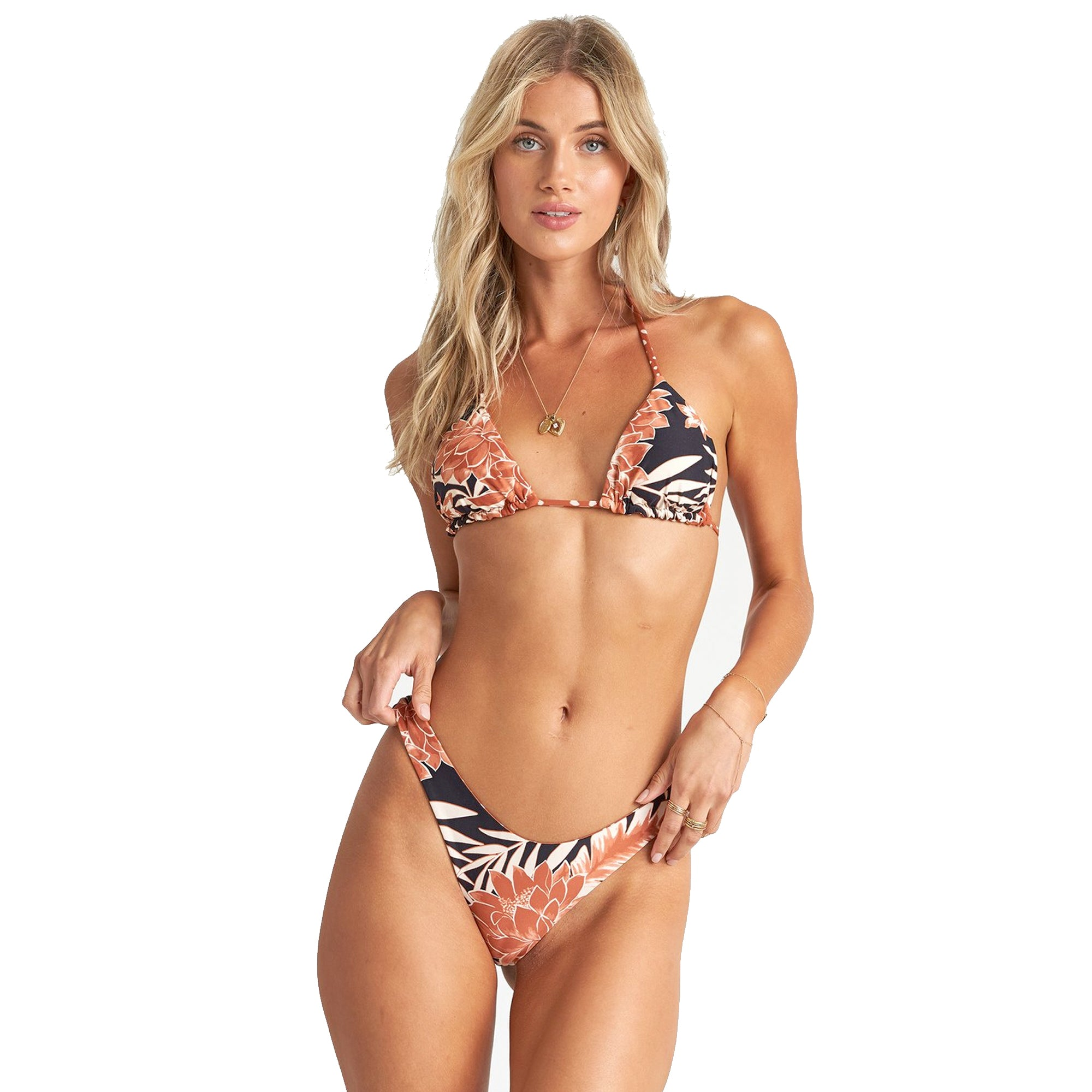 Billabong Shadow Play Tri Reversible Women's Bikini Top