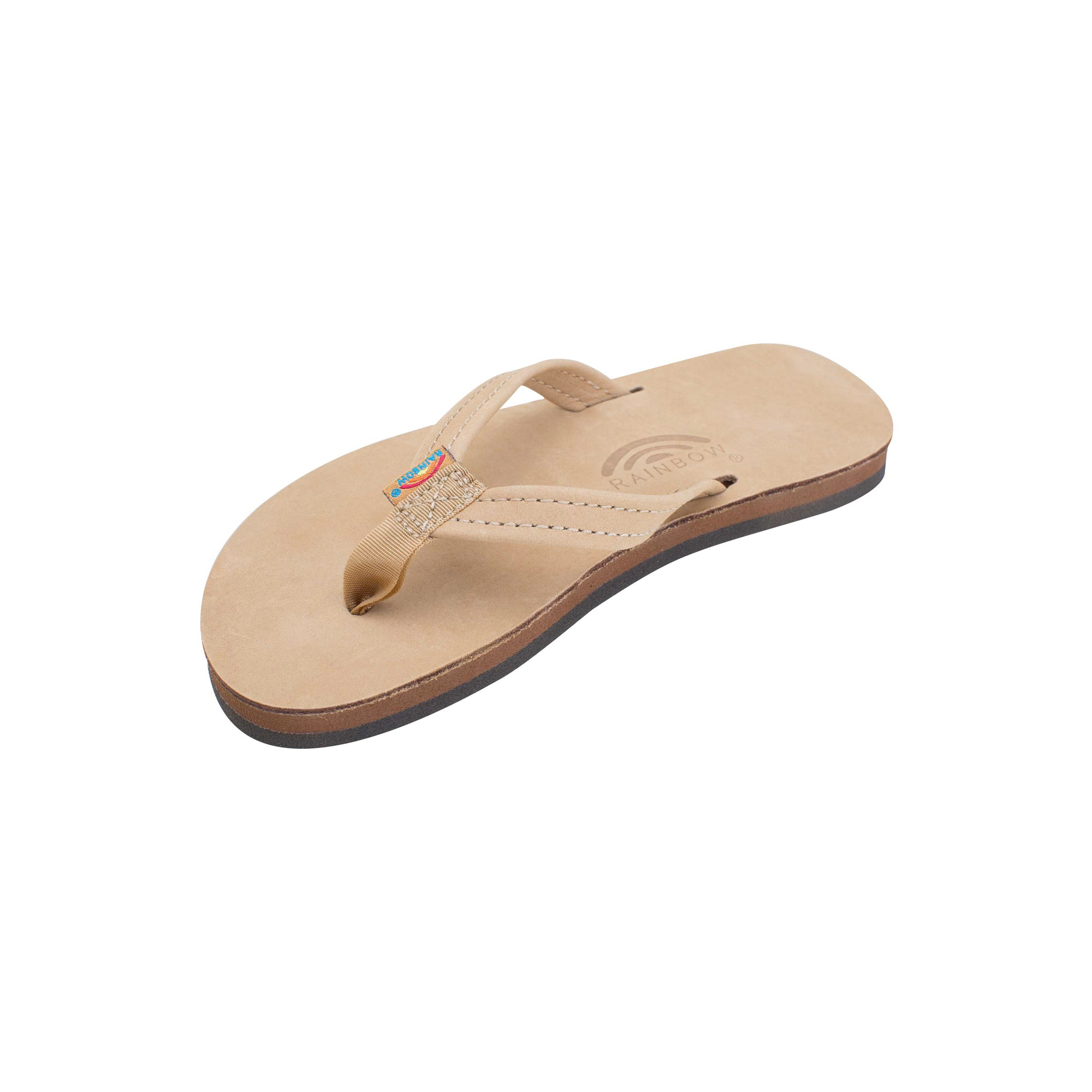 Rainbow Premier Leather Narrow Youth Boy's Sandals