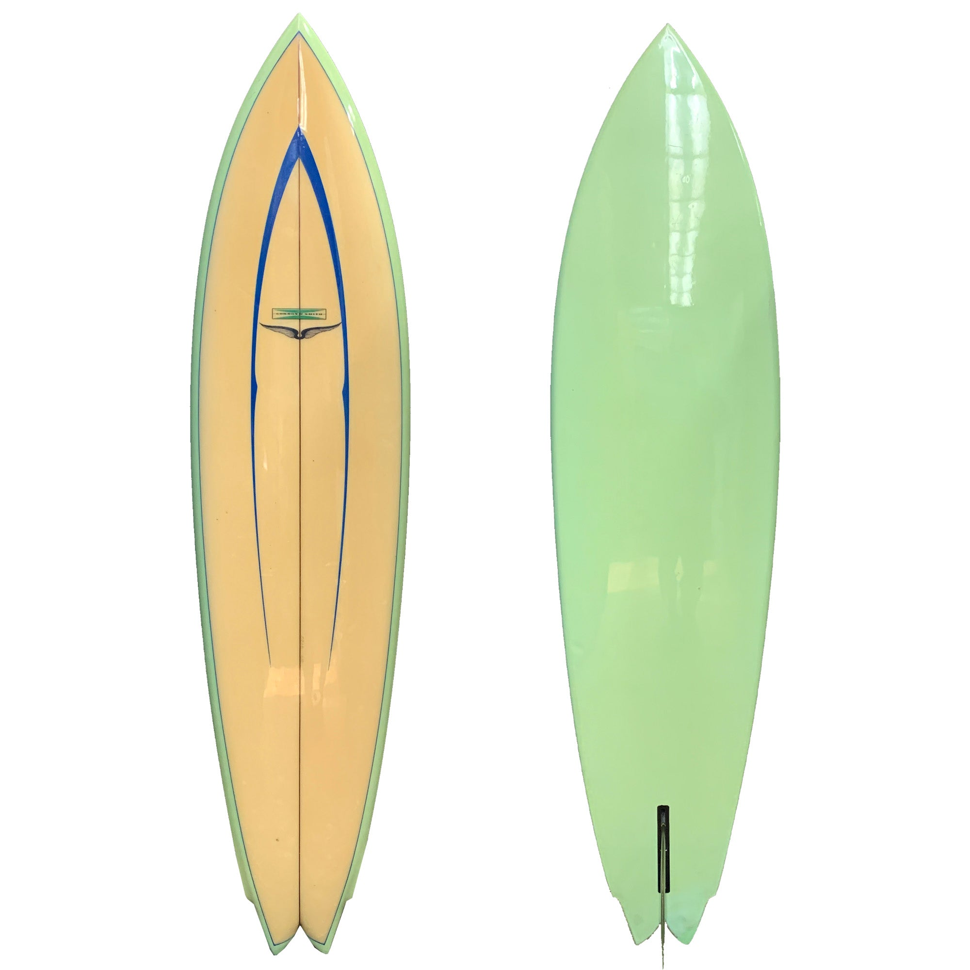 Gordon & Smith Skip Frye Model 6'8 Collector Surfboard