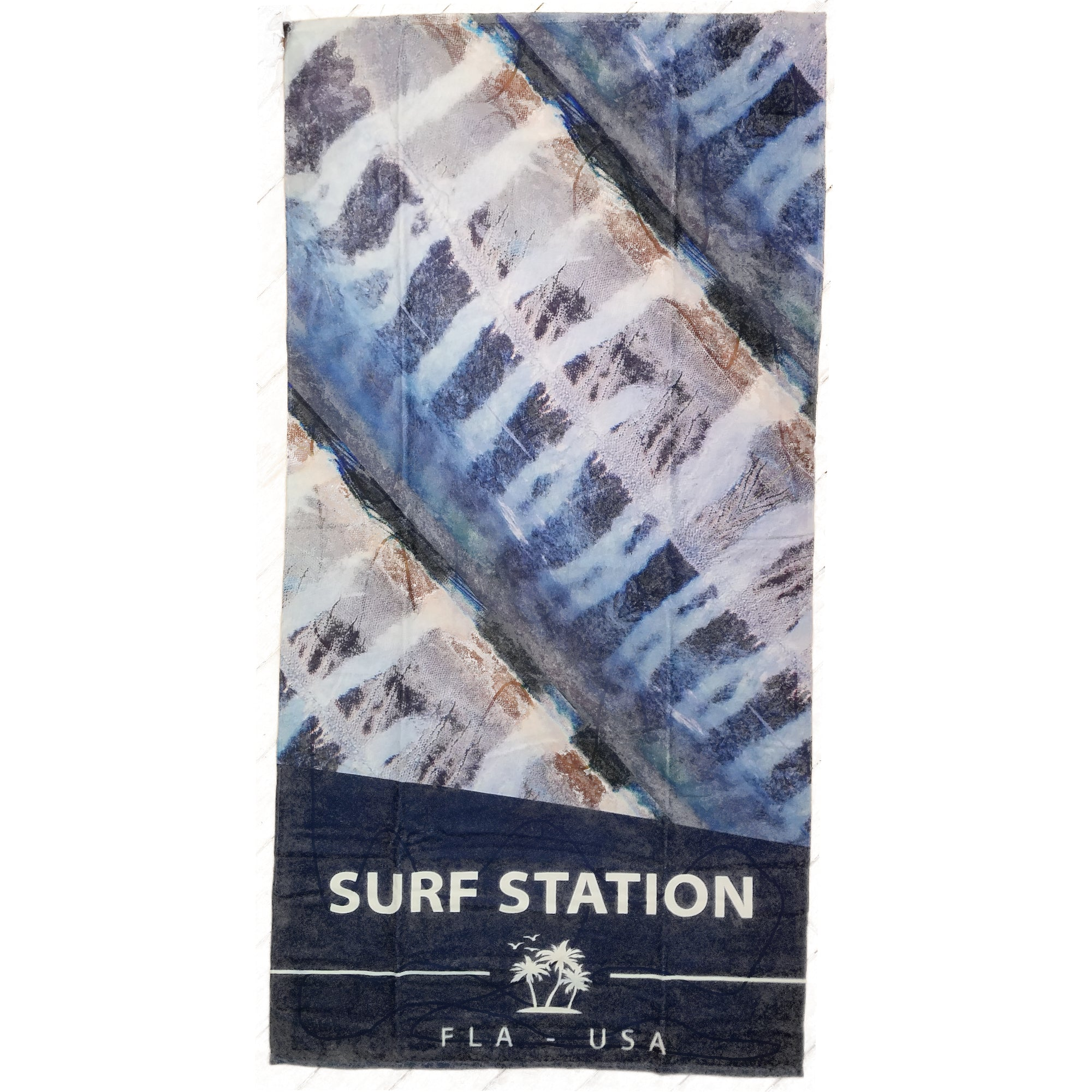 Surf Station Beach Towel - Skinned