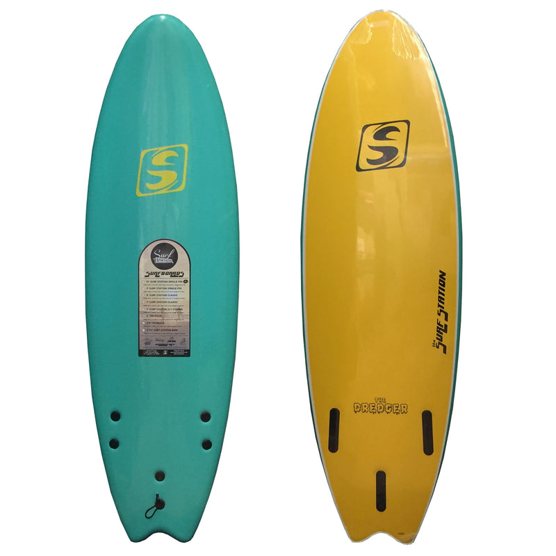 Surf Station Dredger Soft Surfboard