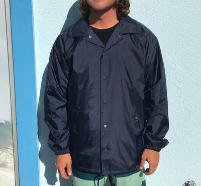 Surf Station Nylon Men's Windbreaker Jacket