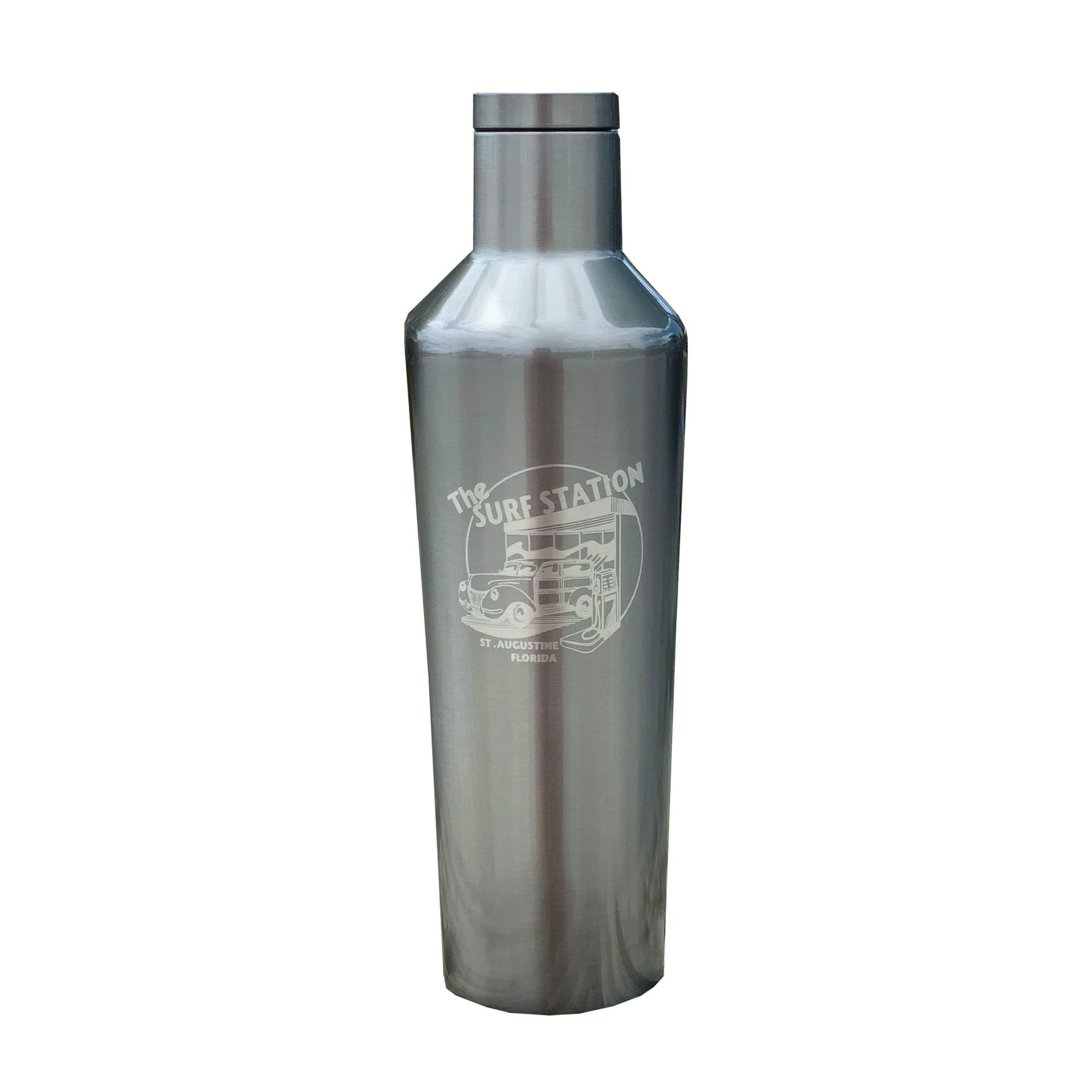 Surf Station 16oz Canteen - Gunmetal