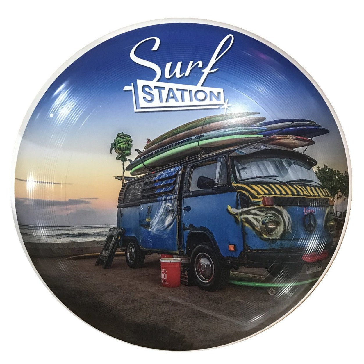 "Surf Station Woody 10.5"" Frisbee"