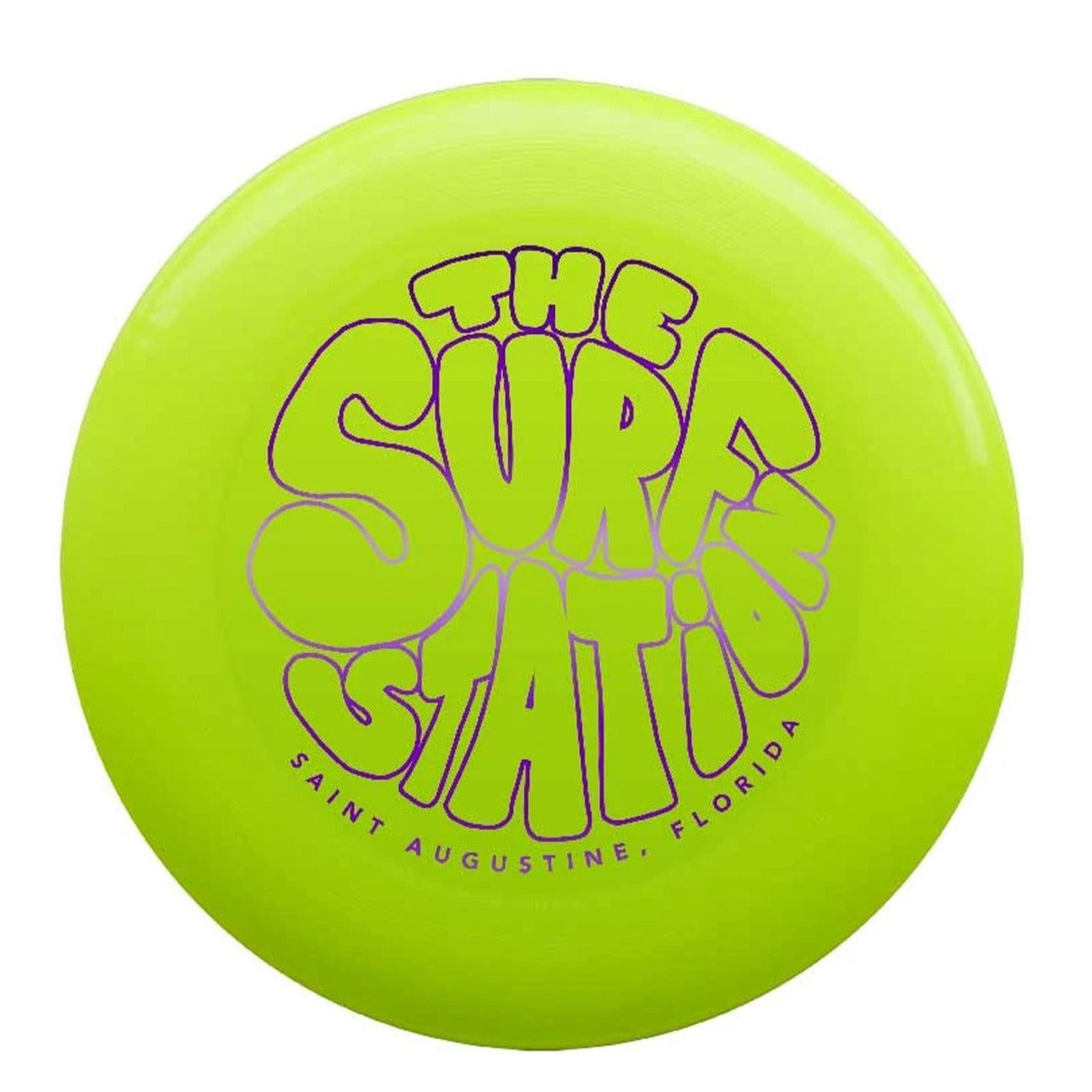 Surf Station Discraft Frisbee Yellow/Purple