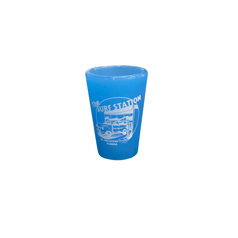Surf Station SiliPint 1.5 oz Shot Glass - Bend Blue