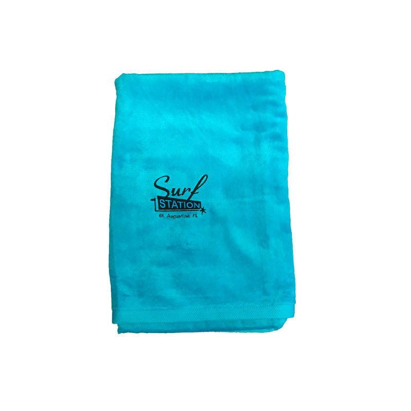 Surf Station Classic Colors Towel - Aqua