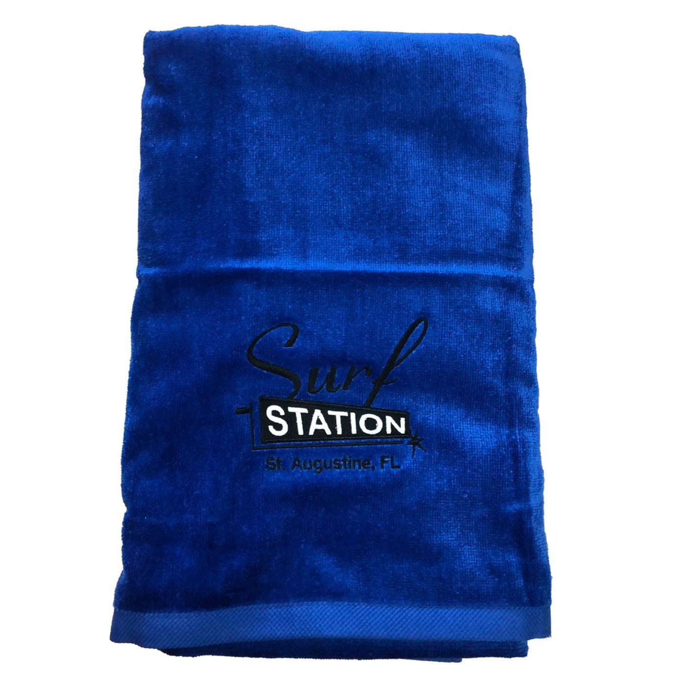Surf Station Classic Colors Towel - Cobalt