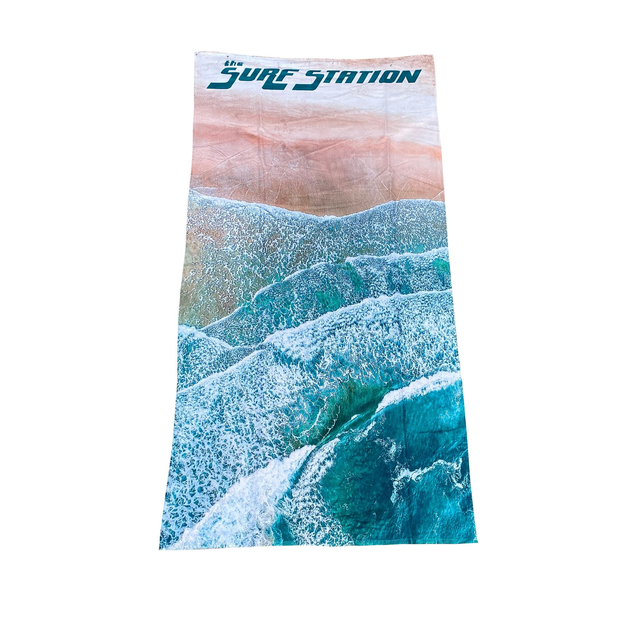 Surf Station Beach Towel - Current