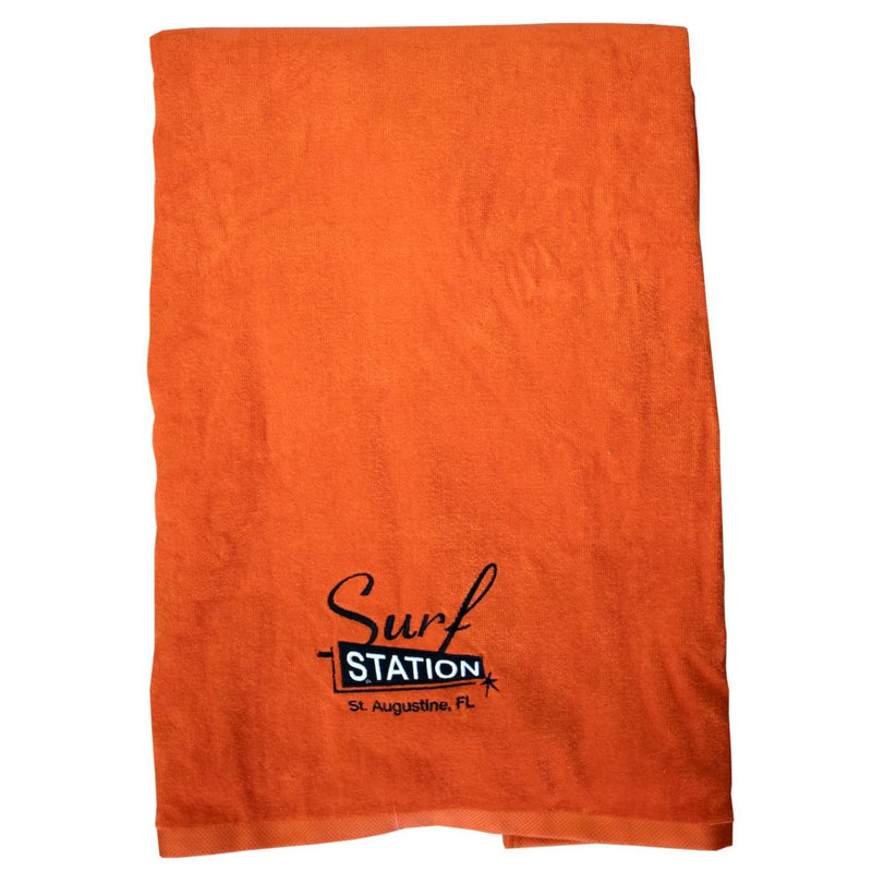 Surf Station Classic Colors Towel - Orange