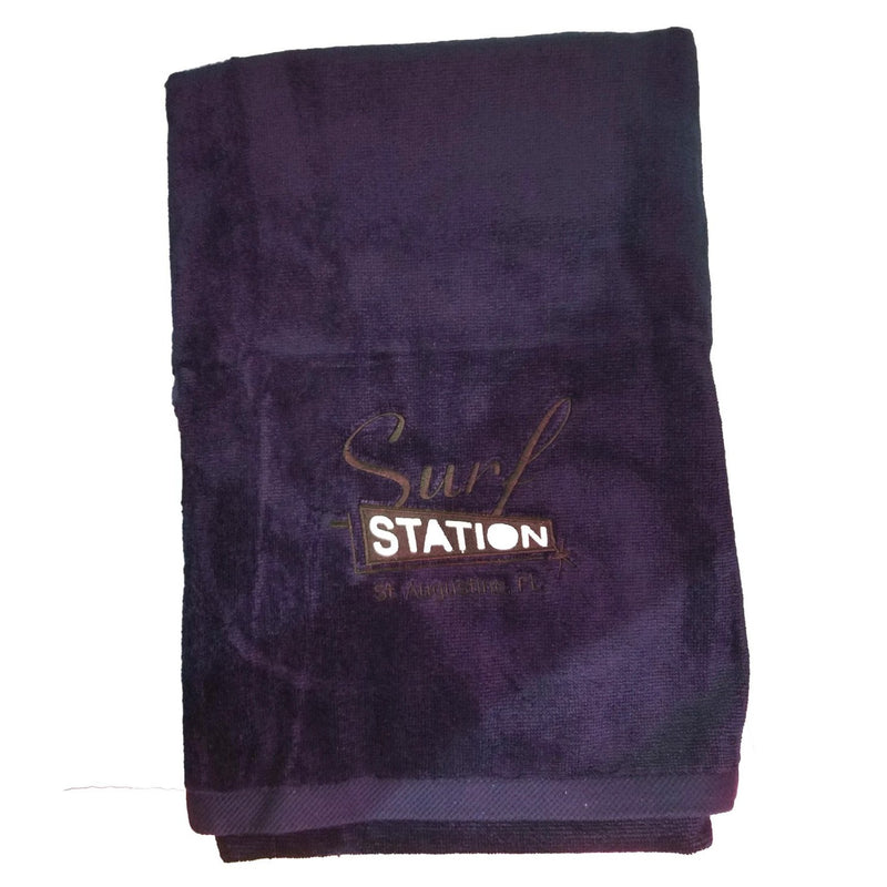 Surf Station Classic Colors Towel - Navy