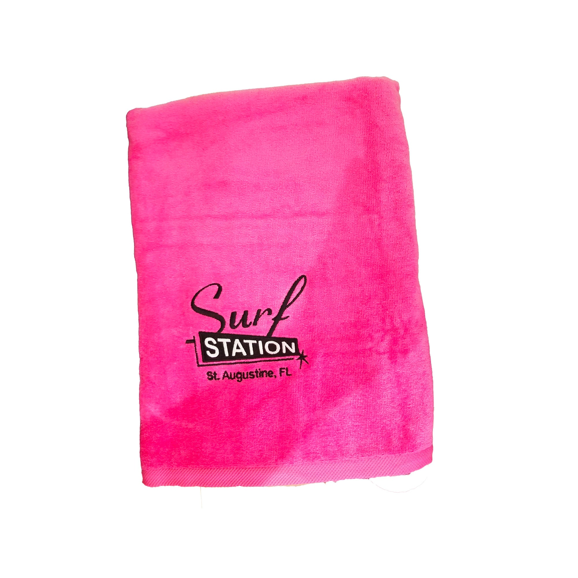 Surf Station Classic Colors Towel - Pink