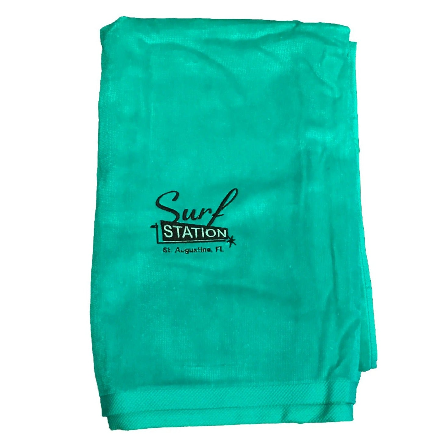 Surf Station Classic Colors Towel - Turquoise