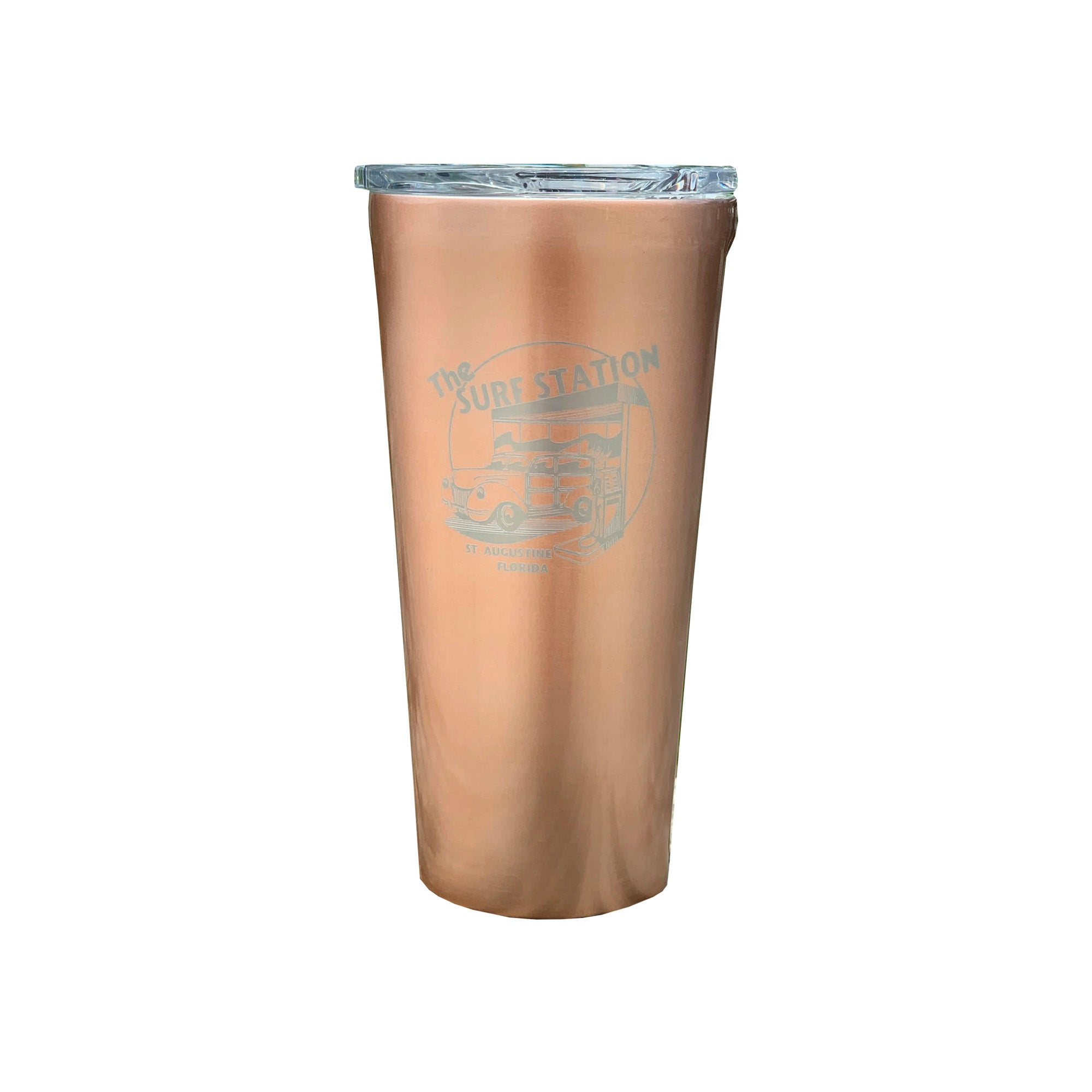 Surf Station Tumbler 16oz Cup - Copper