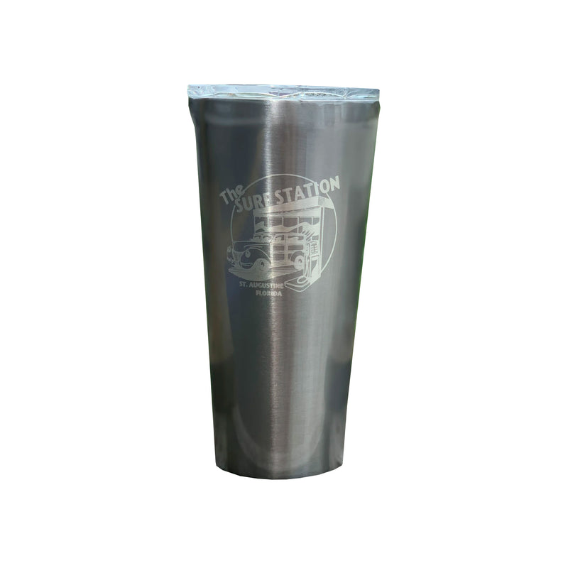 Surf Station Tumbler 16oz Cup - Gunmetal