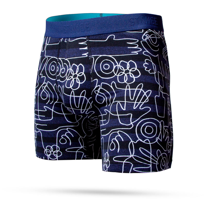 Stance Grasp Roots Wholester Men's Boxer Briefs - Navy