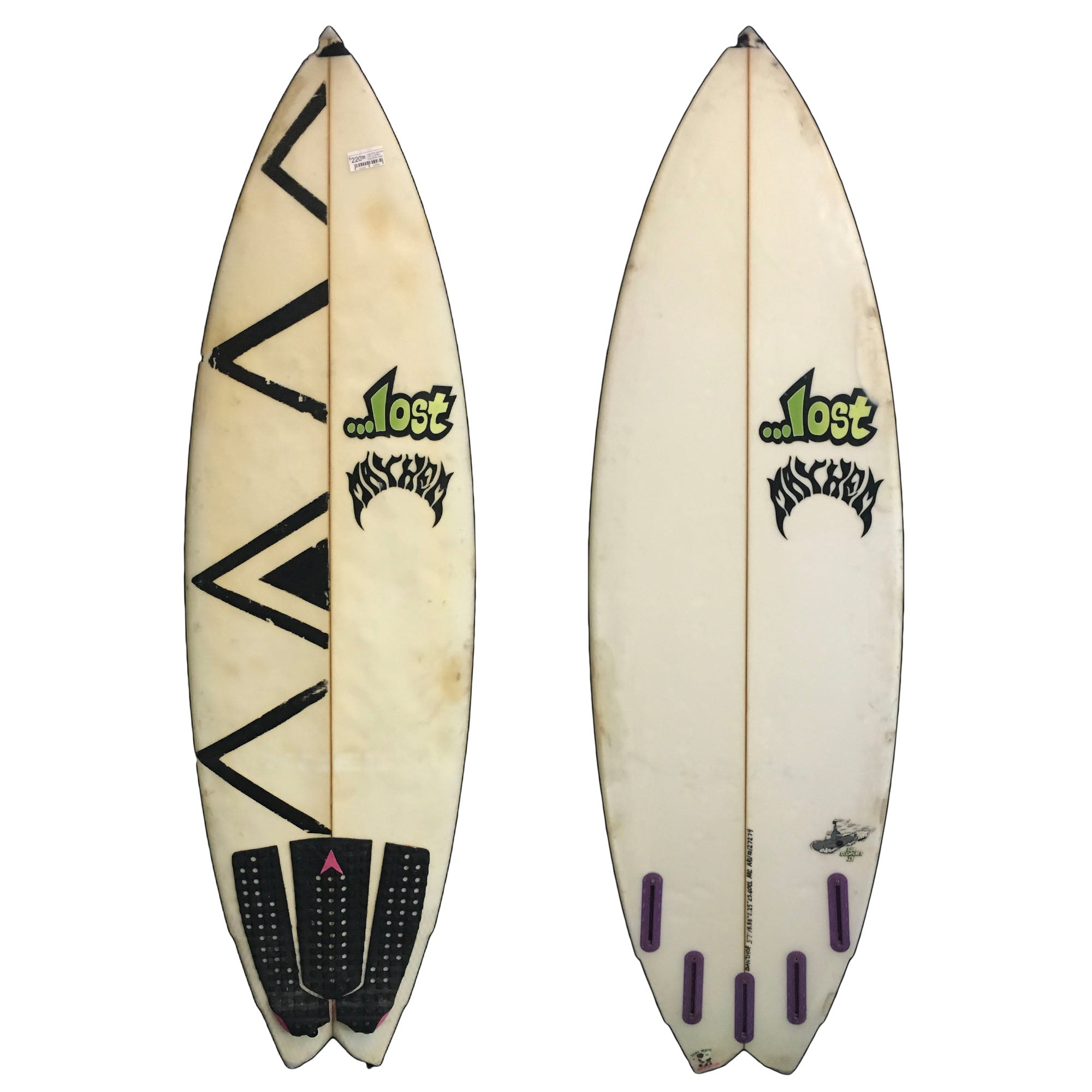 Lost Sub Scorcher 2 5'7 Used Surfboard