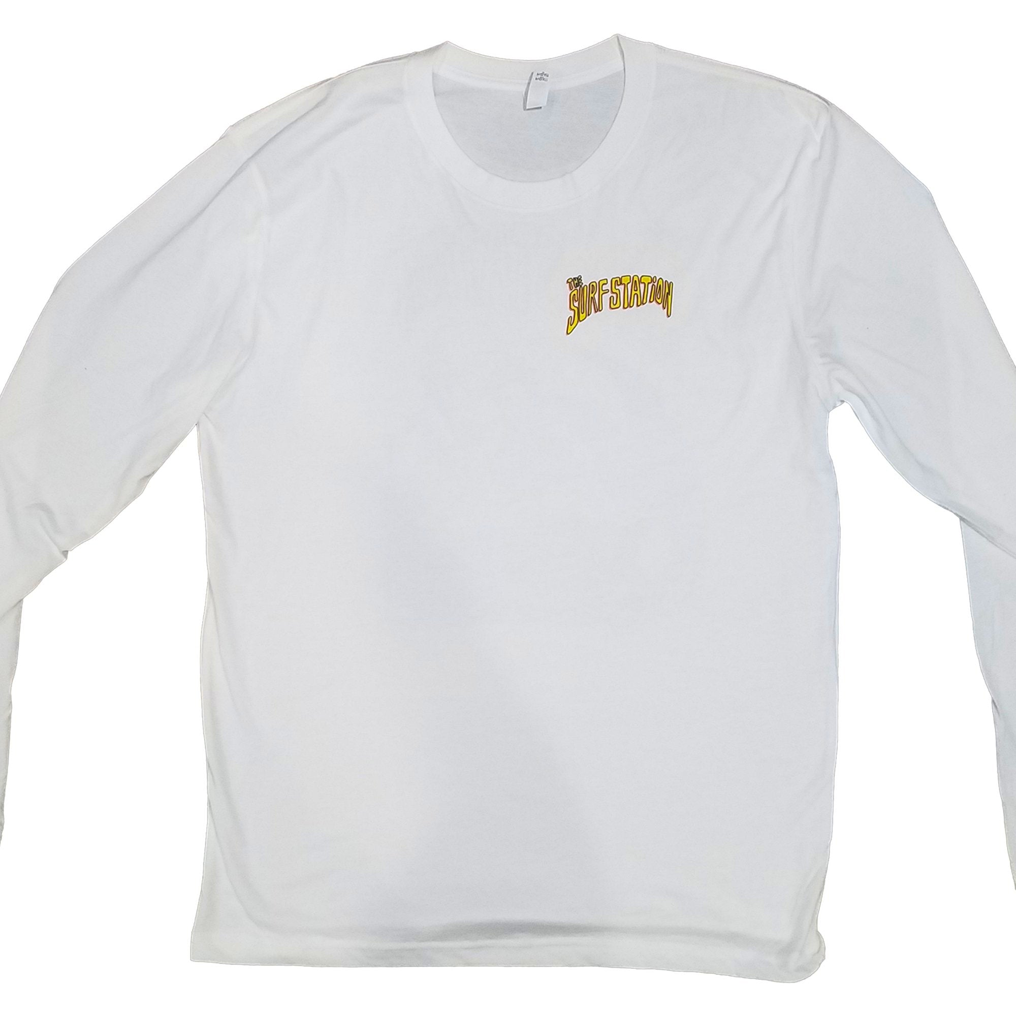 Surf Station Skeleton Gator Youth Boy's L/S T-Shirt