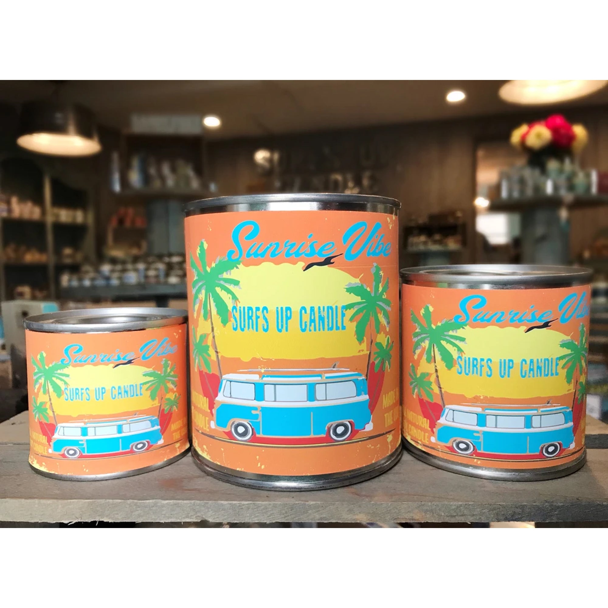 Surf's Up Paint Can Soy Candle - Sunrise Vibe