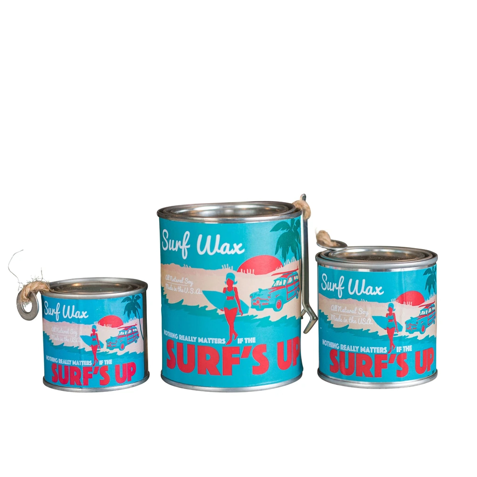 Surf's Up Paint Can Candle - Surf Wax